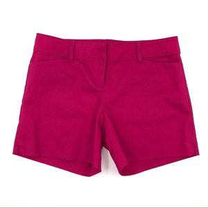 The Limited Dress Shorts Size 8 Fuschia Pink Solid